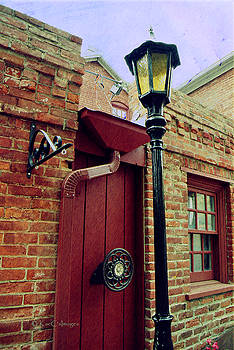 Reeders' Alley Lamp Post by Kae Cheatham