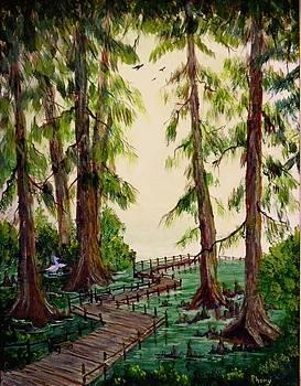 Reelfoot Lake Walk by Rhonda Myers