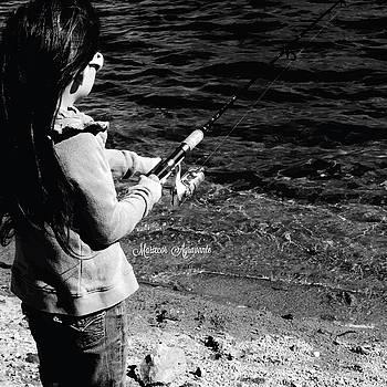 Reeling in a Catch by Mariecor Agravante