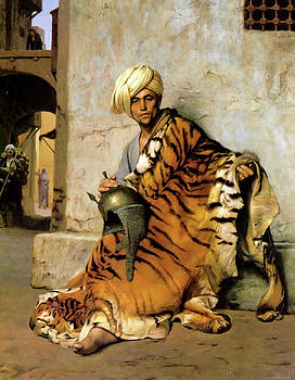 Reference painting, Pelt merchant of Cairo, 1869 by Thomas Pollart