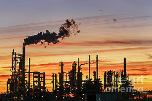 Refinery Sunset by Paul Conrad