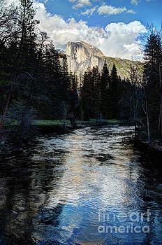 Terry Garvin - Reflectance of Half Dome in Yosemite