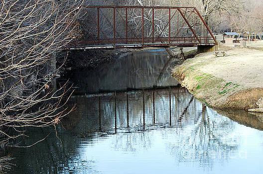 Reflected Bridge by Diane Friend