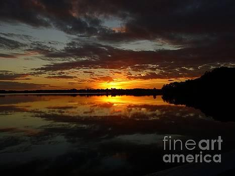 Reflected Sunrise by John Eide