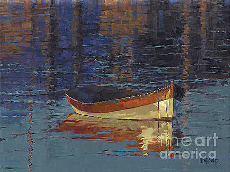 SOLD Reflecting at Day's End by Nancy  Parsons