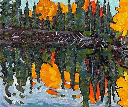 Phil Chadwick - Reflecting Canoe Lake