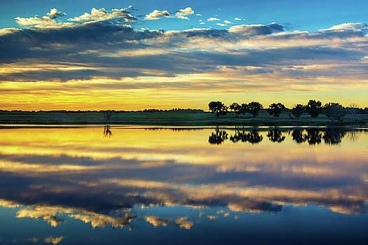 Reflecting On Heaven by John De Bord