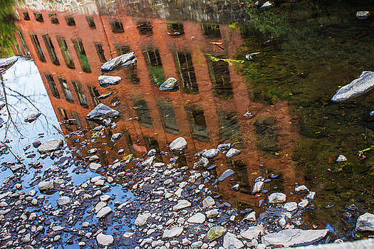 Reflecting on Prosperity's Past- The American Dream Underwater, Waterbury Connecticut by Skyelyte Photography by Linda Rasch