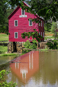 Reflecting Starr's Mill by Randy Bayne