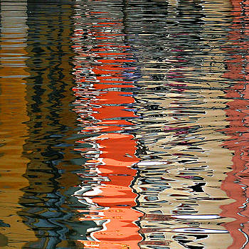 Reflection Abstract 1 by Vicki Hone Smith