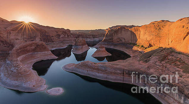 Reflection Canyon, Lake Powell, Utah by Henk Meijer Photography