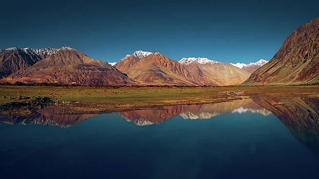 Reflection by Marji Lang