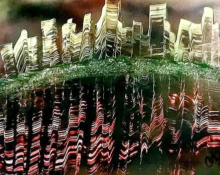 Reflection of a City by CA Simonson