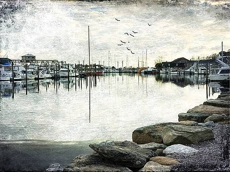 Reflection of a Mast by Linda Ouellette