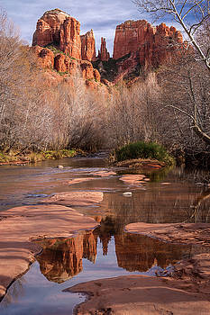 Rick Strobaugh - Reflection of Cathedral Rock