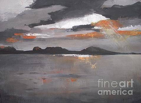 Reflection of the Sunset by Vesna Antic