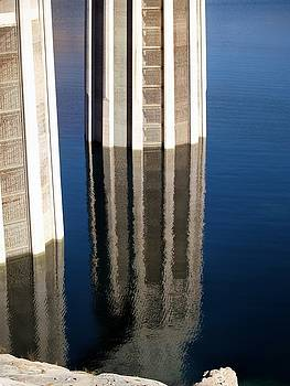 Reflection of Towers by Carrie Putz
