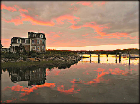 Reflection On Mill Cove by Diane Valliere