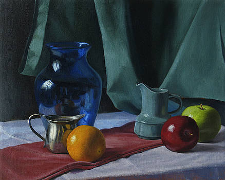 Reflection Still-Life by Amy Tennant