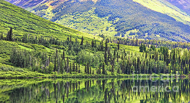 Reflections Alaska II by Chuck Kuhn