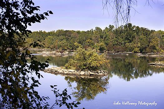 Reflections along the Susquehanna by John Holloway