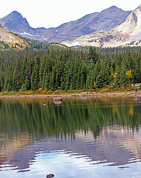 Reflections at Brainard Lake, Colorado by Gretchen Wrede