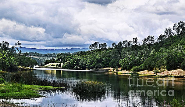 Reflections at Nicasio Reservoir  by Nancy Chambers