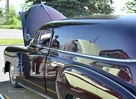 Reflections at the Car Show  by Kae Cheatham