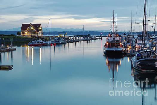 Reflections at the Marina by Jason Fortenbacher