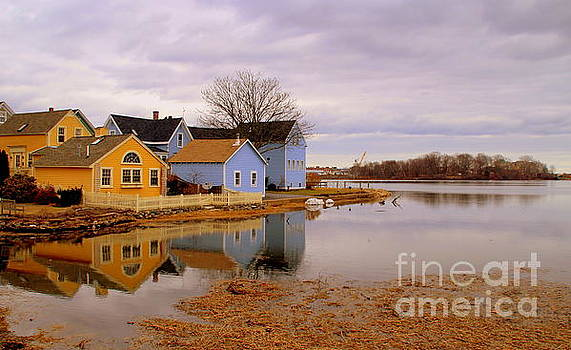 Reflections in the Harbor by Lennie Malvone