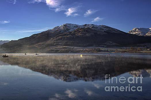 Reflections in the Loch by Lynn Bolt