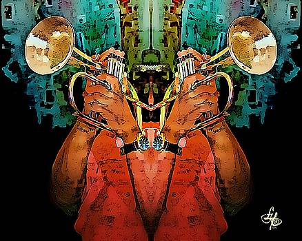 Reflections Of A Trumpeter by Lynda Payton
