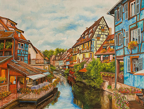 Charlotte Blanchard - Reflections of Colmar
