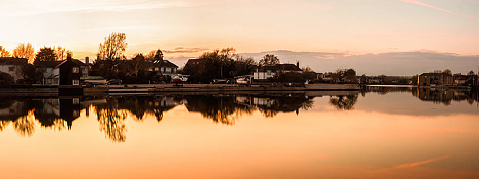 Reflections of Emsworth by Trevor Wintle