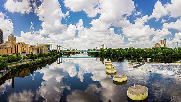 Reflections of Minneapolis by Mike Evangelist