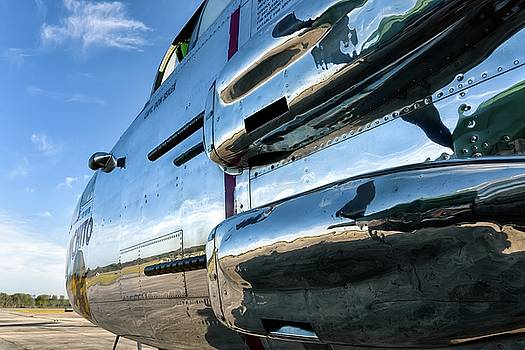 Reflections of Panchito - 2017 Christopher Buff, www.Aviationbuff.com by Chris Buff