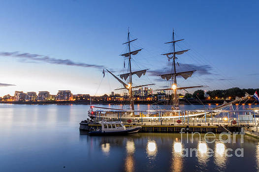 Reflections of tall ships by Andrew Lalchan
