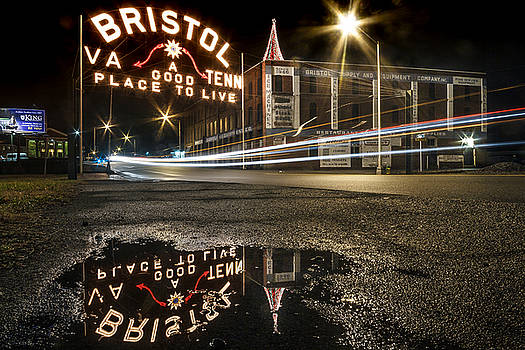 Reflections of the Bristol Sign by Greg Booher
