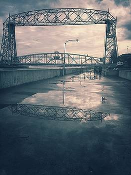 Reflections of the way things used to be ...  by Angela King-Jones
