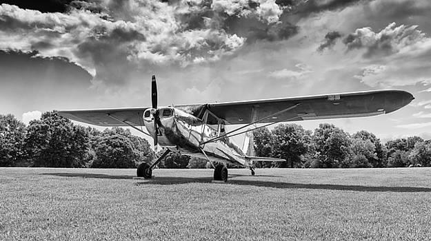 Reflections on Grass - 2018 Christopher Buff, www.Aviationbuff.c by Chris Buff