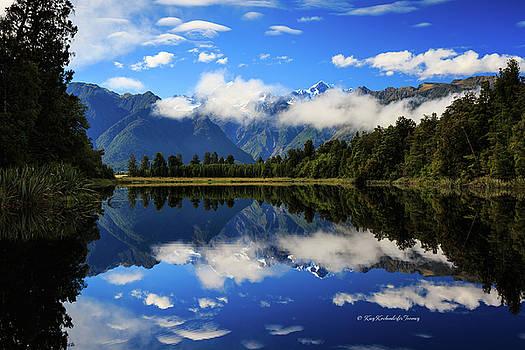 Reflections on Lake Matheson by Kay Kochenderfer
