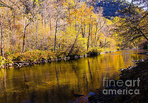 Reflections on the Nantahala by Marilyn Carlyle Greiner