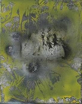 Reflet miroir d'un lac galactique 2005 by Annick Gauvreau