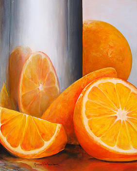 Reflet orange by Muriel Dolemieux