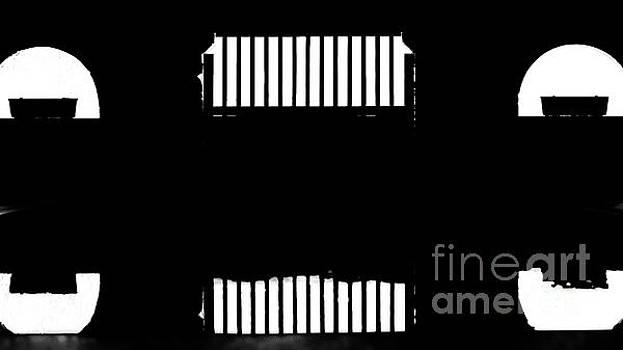 JORG BECKER - Reflexion en noir et blanc