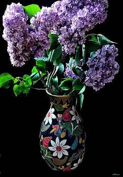 Refreshing Lilac by Romuald  Henry Wasielewski
