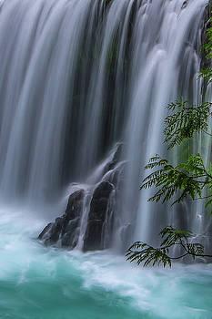 Refreshing waterfall by Ulrich Burkhalter