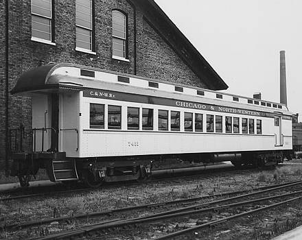 Chicago and North Western Historical Society - Refurbished Car 7411 - 1960