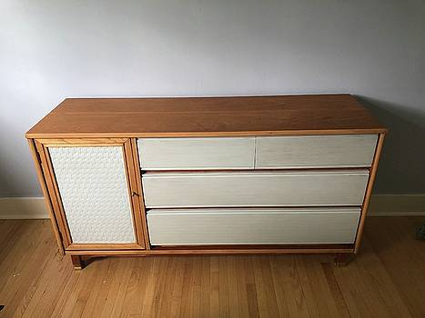 Refurbished Mid-Century Commode by Mario MJ Perron