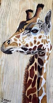 Regal Giraffe by Debbie LaFrance